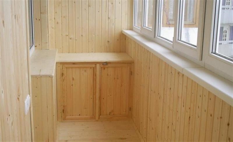 Утеплить и обшить балкон